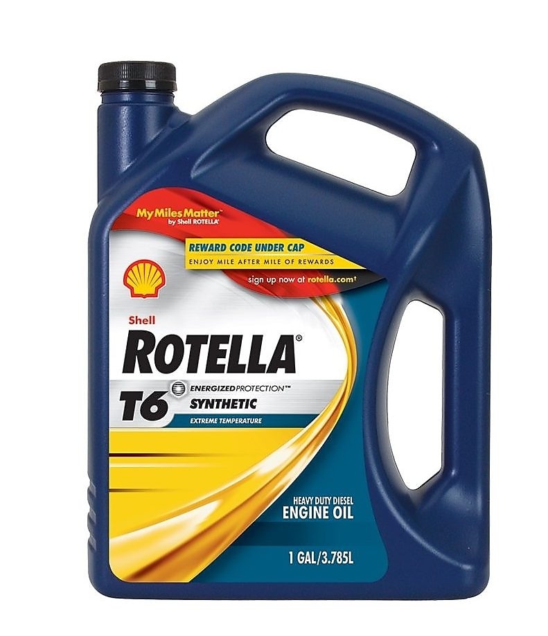 Shell Rotella T6 pack shot
