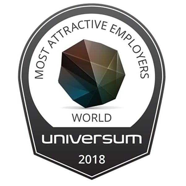 Universum most attractive employers logo