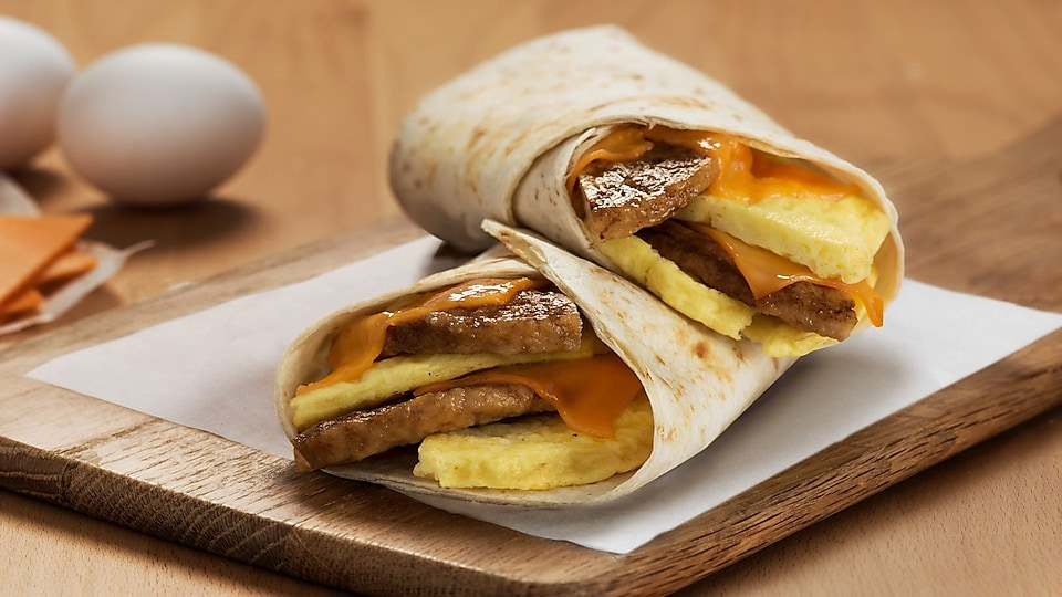 Breakfast wrap Sausage