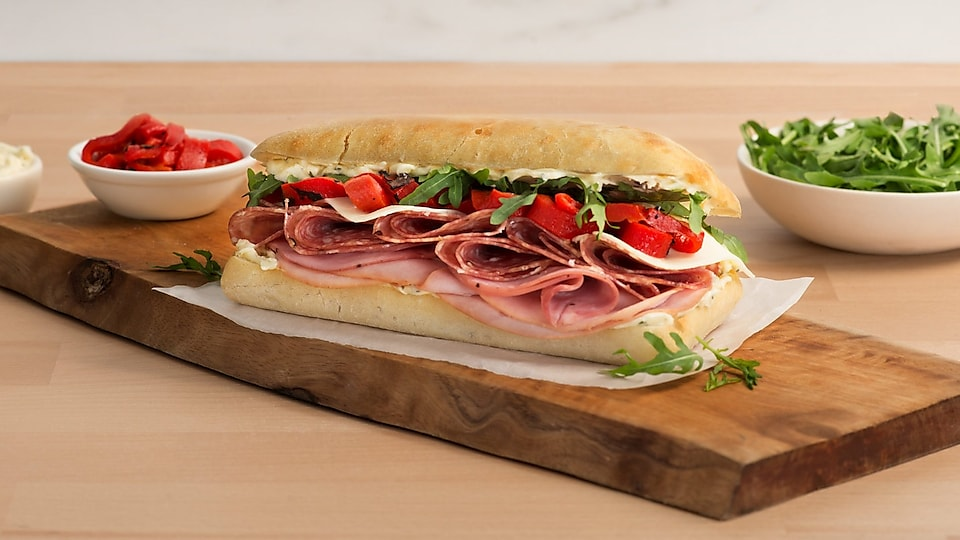 delicafé by Shell Italian hero sandwich