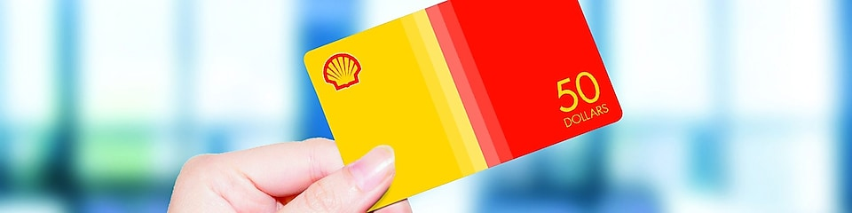 using shell gift card