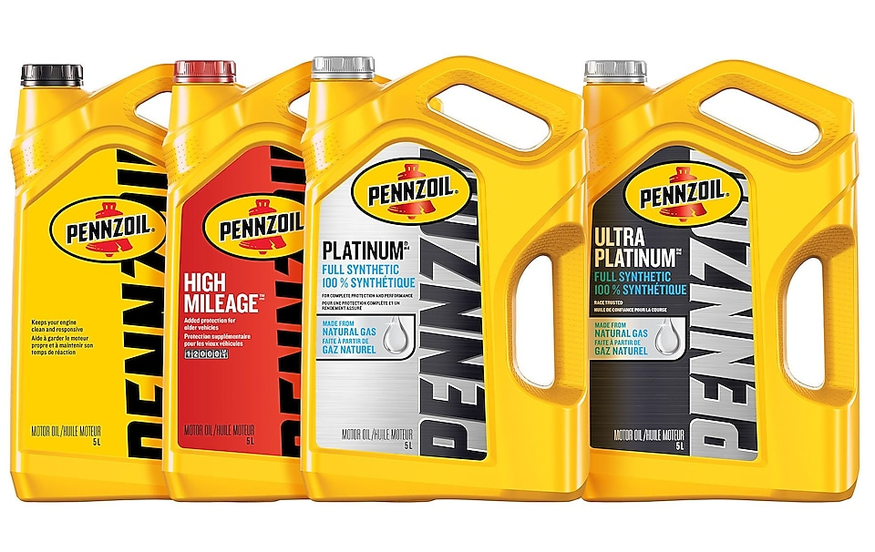 pennzoil ultra platinum bottles