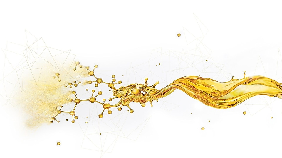 Oil splash - Shell Helix Ultra PurePlus