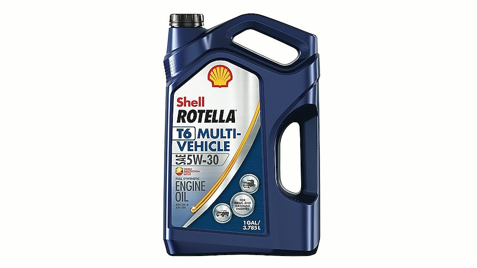 Shell Rotella T5 mélange synthétique