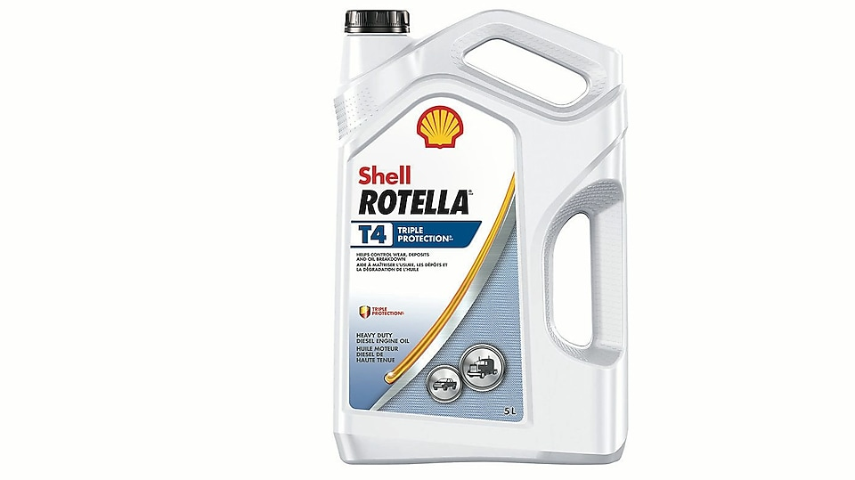 Shell Rotella T4 Triple protection