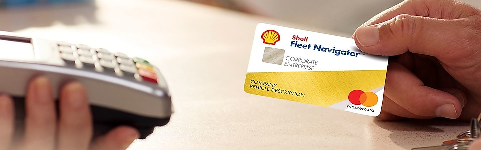 Shell Fuel Navigator card